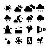 Fototapety Weather Icons