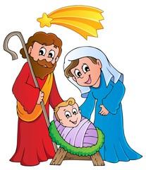 Christmas Nativity scene 1
