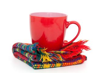 winter cup of tea