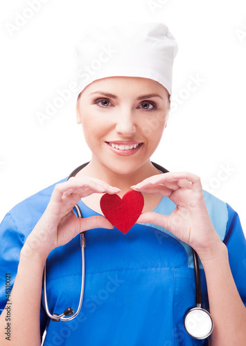 cardiologist isolated