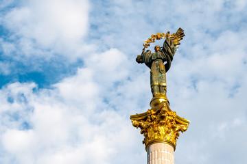 Monument to Berehynia on Kiev main square