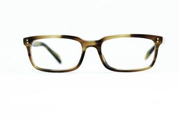Braunmeliertes Brillengestell