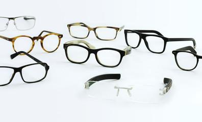 Verschiedene Brillengestelle