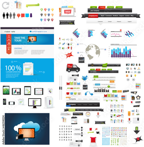Web graphic collection - startup graphics part 2