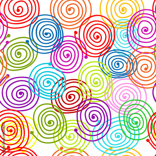 Abstract swirl pattern for your design - 46314050