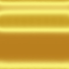 gold metal texture background with horizontal lines of light