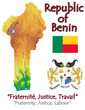 Benin Africa national emblem map symbol motto