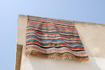 tapis dans la medina de bizerte