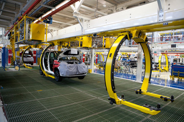factory car production line