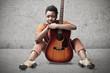 Black Woman Guitarist