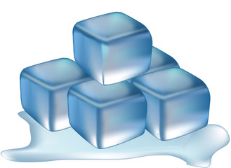 ghiaccio in cubetti