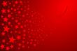 Weihnachten, Sternschnuppe rot, Vektor