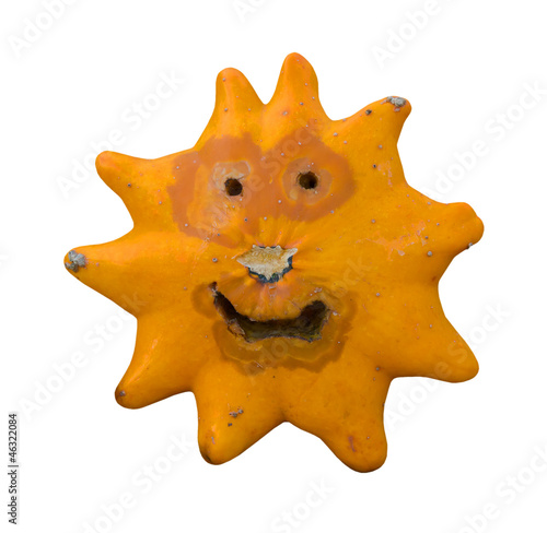 Happy pumpkin star