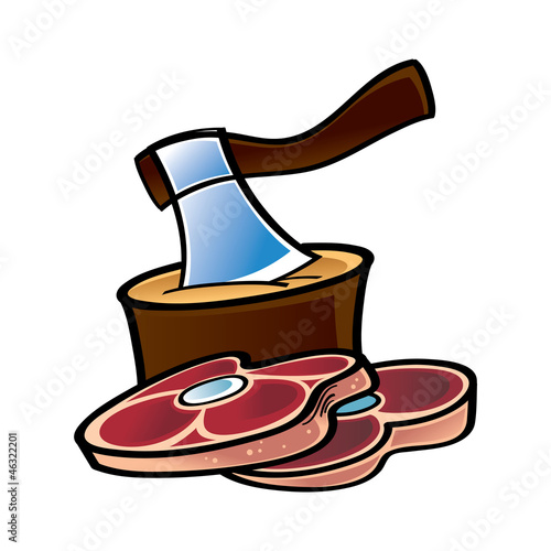 Raw Meat and Axe
