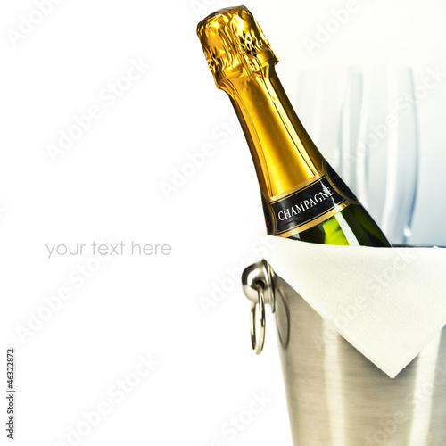 Papiers peints Bar Champagne