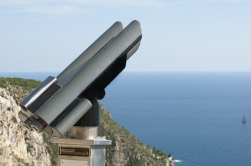 Tourist telescope.