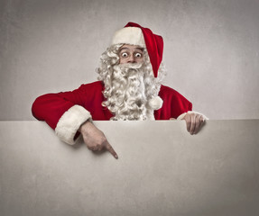 Advertising Santa Claus