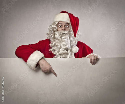 Advertising Santa Claus