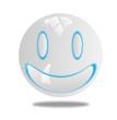 3d smiling smile