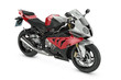 Red Sport Motorcycle - 46325833