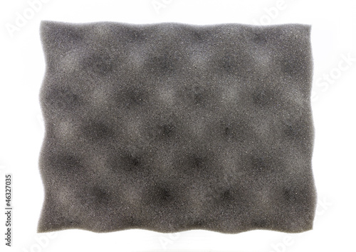 Grey acoustic foam