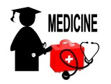 Medical doctor MD / school graduate - icon
