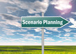 "Signpost ""Scenario Planning"""