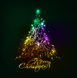 colorful background for new year and Christmas