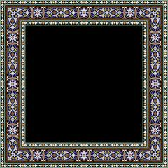 Ahar Complex Floral Frame
