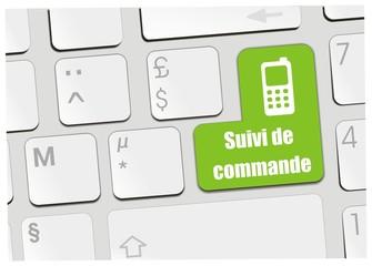 clavier suivi de commande