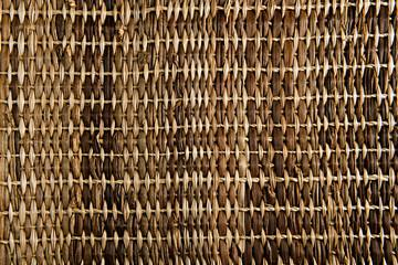Course woven carpet
