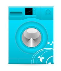Retro Design Modern Washing Machine