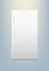 Refrigerator or Fridge Vector Illustartion