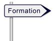 Panneau direction formation