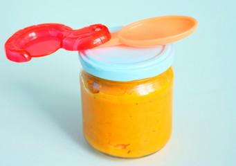 purée de carotte en pot,pour bébé