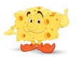 Cheese Vector Character