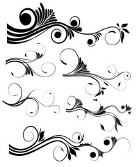 Swirl Flourish Elements