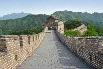 Great Wall of China in Summer (near Beijing)