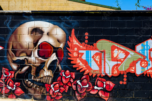 mata magnetyczna Graffiti