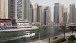 Yacht in Dubai Marina