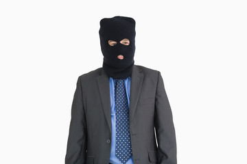 Businessman as a thief