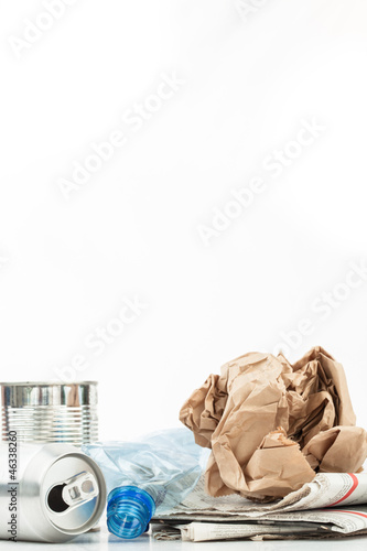 Various recyclable waste