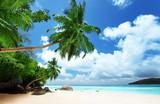 Fototapety beach on Mahe island in Seychelles