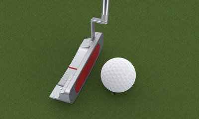 Il golf: il putter