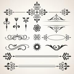 Design elements & page decoration set