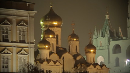 night Kremlin sequence