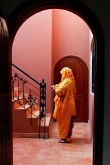 habit traditionnel des femmes du sud du Maroc