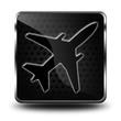 Icône avion - Voyage