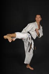 Posiciones de karate. Yoko geri