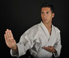Posiciones de karate. Shuto uke